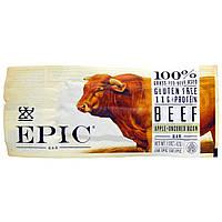 Epic Bar, Говядина, яблоко + незасоленный бекон, батончик, 12 шт, 1,5 унции (43 г) каждый