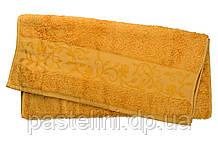 Рушник махра-бамбук 100x150 bamboo золотий
