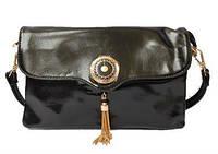 Женская сумка на плечо, через плечо Moj-0173 Черный, Голубой, Фиолетовый, Розовый, Белый ...