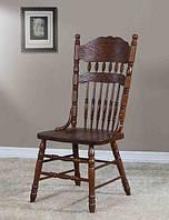 Деревянные стулья для кухни  828-С-1 темный орех.
