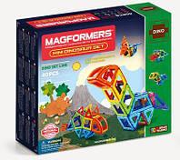 Магнитный конструктор Маленькие динозавры, 40 элементов, серия Дино, Magformers