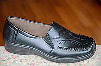 Туфли для старших черные женские популярные (Код: 44), фото 1
