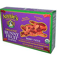 Annies Homegrown, Органические фруктовые закуски, Берри патч, 5 пакетиков, 0,8 унции (23 г) каждый