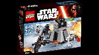Конструктор LEGO Star Wars First Order Battle Pack LEGO Star Wars Штурмовое снаряжение Первого Ордена