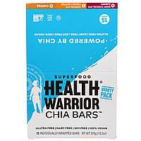 Health Warrior, Inc., Снеки с семенами чиа, ассорти, темный шоколад, вишня, шоколадное арахисовое масло, кофе, 15 штук, 13 унций (375 г)