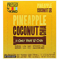 KIND Bars, Pressed by KIND, Pineapple Coconut Chia Fruit Bars, 12-1.2 oz (35 g)
