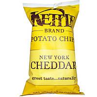 Kettle Foods, Картофельные чипсы, New York Cheddar, 5 унций (142 г)
