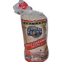 Lundberg, Рисовые хлебцы с яблоком и корицей, 9,5 oz (269 г)