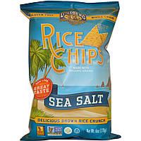 Lundberg, Рисовые чипсы, с морской солью, 6 унций (170 г)
