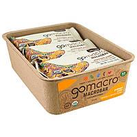 GoMacro, Macrobar, Prolonged Power, Banana + Almond Butter, 12 Bars, 2.3 oz (65 g) Each