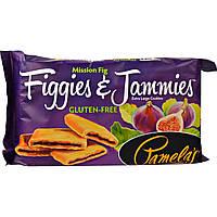 Pamelas Products, Figgies и Jammies, очень большие печенья, с инжиром, 9 унций(255 г)