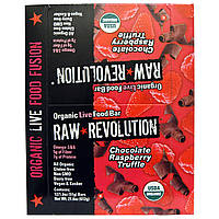 Raw Revolution, Органический батончик с шоколадом и малиной, 12 батончиков, 1,8 унций (51 г) каждый