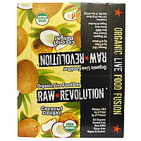 Raw Revolution, Органический батончик с кокосом, 12 батончиков, 1,8 унций (51 г) каждый