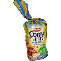 Real Foods, Натуральные кукурузные хлебцы, традиционные, 25 ломтиков, 5.3 унций (150 г)
