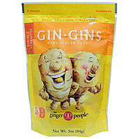 The Ginger People, Gin Gins Double Strength Ginger Hard Candy 3oz bag