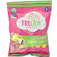 TruJoy Sweets, Органические оригинальные фруктовые жевательные конфеты, 2,3 унции (65 г)