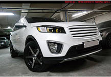 Решетка радиатора - KIA All New Sorento UM (MORRIS), фото 2