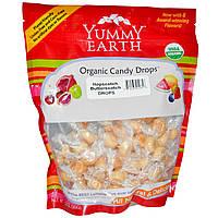 YumEarth, Органические леденцы, большая упаковка, со вкусом ириски, 13 унций (369 г)