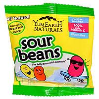 YumEarth, Кислые желейные конфеты, упаковка, 50 пачек по 20 г