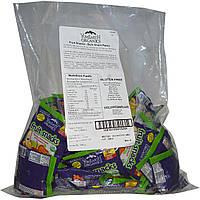 YumEarth, Фруктовый снэк, Бананы, вишня, персик и клубника, 50 упаковок, 0,7 унции (19,8 г) каждая