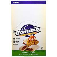 YUP, B Jammin энергетический батончик, яблочный пирог A La Mode, 18.7 унции(530 г)