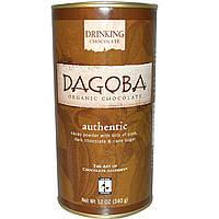 Dagoba Organic Chocolate, Шоколадный напиток, аутентичный, 12 унций (340 г)