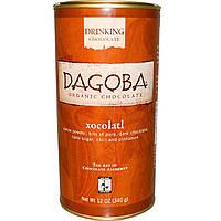 Dagoba Organic Chocolate, Питьевой шоколад, Xocolatl, 340 г (12 унций)