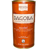 Dagoba Organic Chocolate, Питьевой шоколад, Xocolatl, 340 г (12 унций)