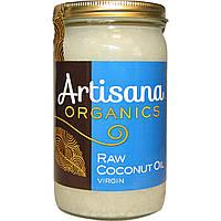 Artisana, Organics, сырое кокосовое масло, нерафинированное, 14 унций (414 г)