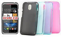 Силиконовый чехол для HTC Desire 210