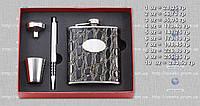 Подарочный набор F3-21-(7oz) - фляга, рюмка, воронка, ручка MHR /85-4