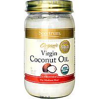 SpectrumСвекольный сок, Органическое кокосовое масло холодного отжима, нерафинированное, 14 жидких унций (414 мл)