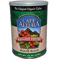 Cafe Altura, Органический кофе, домашняя смесь, 12 унций (339 г)