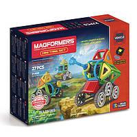Магнитный конструктор Мини танки, 27 элементов, серия Средства передвижения, Magformers