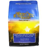 Mt. Whitney Coffee Roasters, Коста-риканское поместье Тарразу, обжарка средняя плюс, кофе в зернах, 12 унций (340 г)