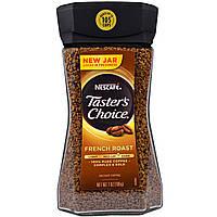 Nescaf, Tasters Choice, Instant Coffee, French Roast, 7 oz (198 g) Тестер Чойс, растворимый кофе, французской обжарки, 7 унций (198 грамм)