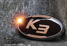 Эмблемы VIP-134 (передняя+задняя+клаксон) - KIA K3 / New Cerato (VIP), фото 3