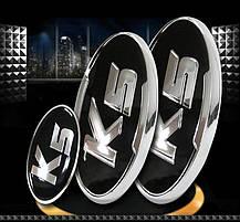 Емблеми VIP-171 (передні+задні+клаксон) - KIA K5 / New Optima (VIP), фото 3