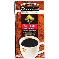 Teeccino, Травяной кофе, средняя обжарка, ваниль и орехи, без кофеина, 25 пакетиков, 5,3 унции (150 г)