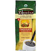Teeccino, Органический травяной заменитель кофе, сильной обжарки, без кофеина, шоколад, 312 г (11 унций)