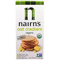 Nairns Inc, Натуральные овсяные крекеры, 8,8 унций (250 г)