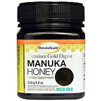 Manuka Guard, Мед манука, премиум-голд для пищеварения, 8,8 унции (250 г)