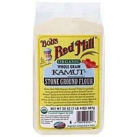Bobs Red Mill, Органическая камутовая мука, 567 г (20 унций)