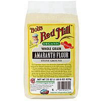Bobs Red Mill, Органическая мука из цельного амаранта, 22унции (623г)