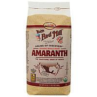 Bobs Red Mill, Органические цельные зерна амаранта, 24 унции (680 г)
