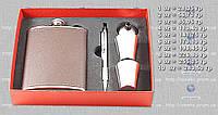 Подарочный набор F3-399-(8oz) - фляга, рюмки, воронка, ручка MHR /02-4