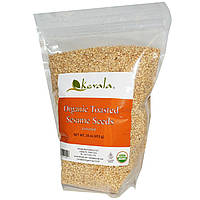 Kevala, Органические обжаренные семена кунжута, 16 унций (453 г)