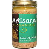 Artisana, Органический продукт, масло сырого миндального ореха, 14 унций (397 г)