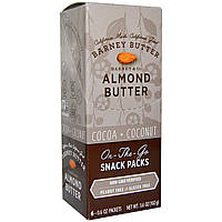 Barney Butter, Almond Butter, Cocoa + Coconut, 6 Packets, 0.6 oz (17 g)