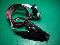 Адаптер зажим SOIC8 SOP8 для USB программатора, фото 1
